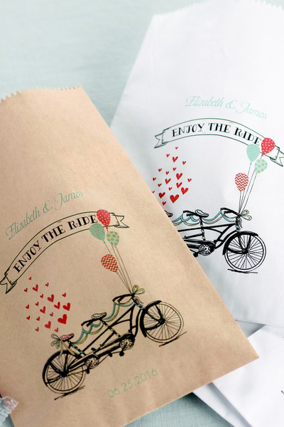 Enjoy The Ride Treat Bags