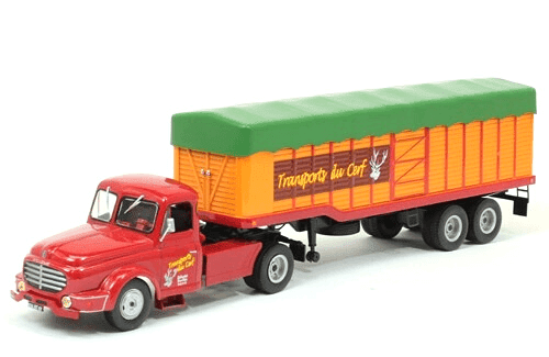 willeme lc 610 t 1/43 transports du cerf, coleção caminhões articulados altaya, coleção caminhões articulados planeta deagostini, coleção caminhões articulados 1:43