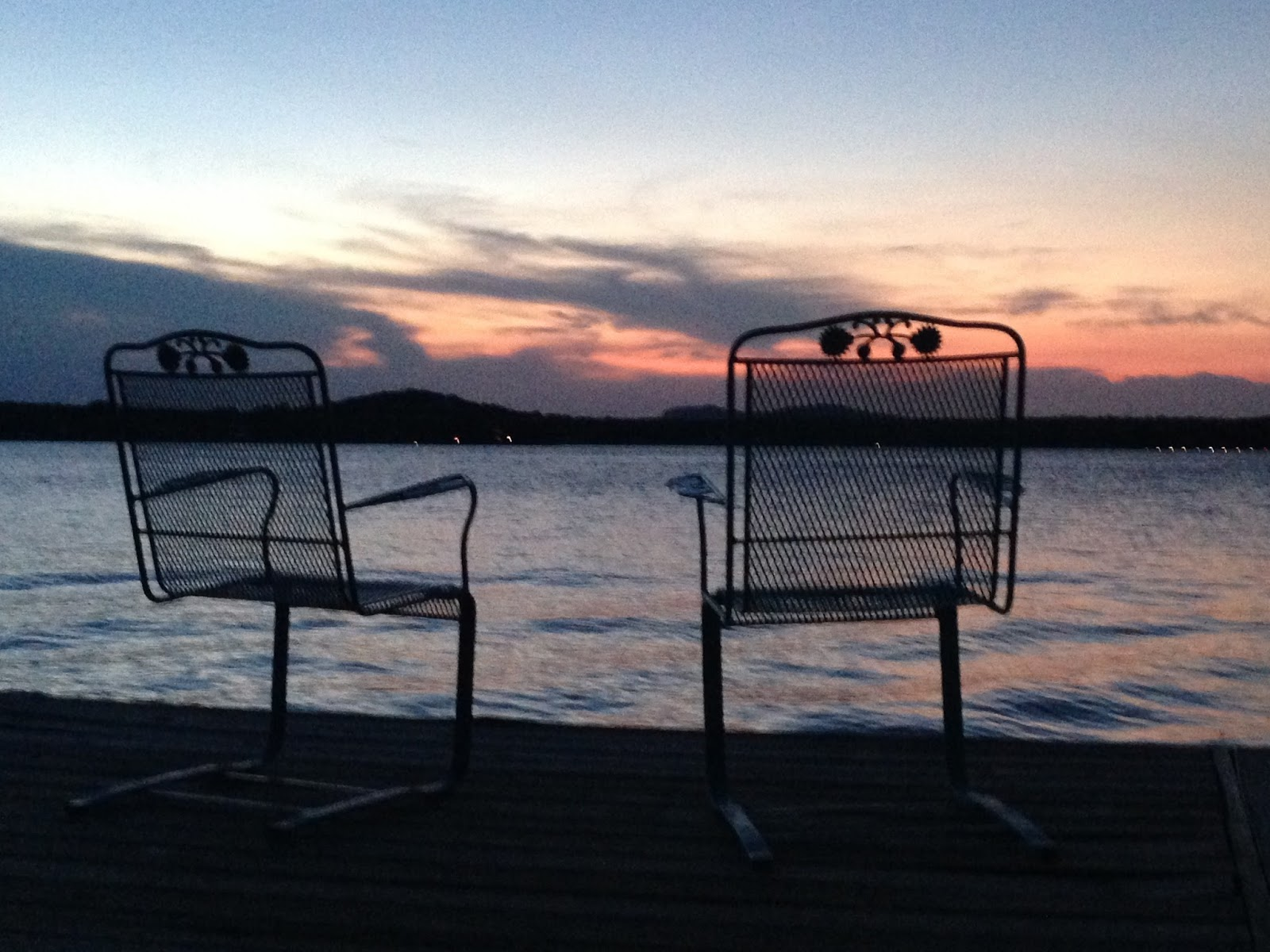 Catbird Scout: Chairs on the Dock