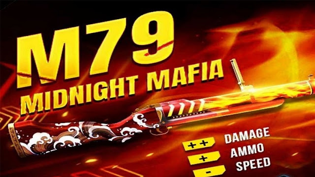 Cara Mendapatkan Gun Skin M79 dan P90 Midnight Mafia