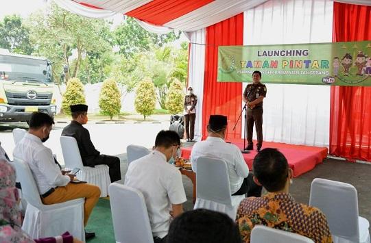Kejari Kabupaten Tangerang Sediakan Taman Pintar Bagi Pelajar