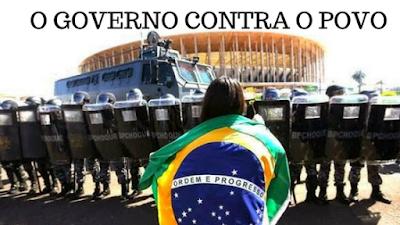 O ESTADOS UNIDOS E O BRASIL, a diferença não é um governo mais justo!