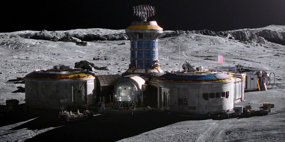 Jamestown US Moon base in season 2 of 'For All Mankind'