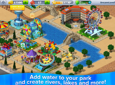 Mod Apk RollerCoaster Tycoon 4 Mobile Akozo