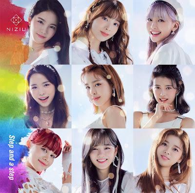 NiziU - Step and a Step lyrics lirik 歌詞 arti terjemahan kanji romaji indonesia official english translations debut single