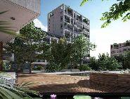 Rendering del nuovo complesso residenziale Milano City Village