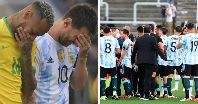 FIFA starts disciplinary procedure towards Brazil for Argentina game drama