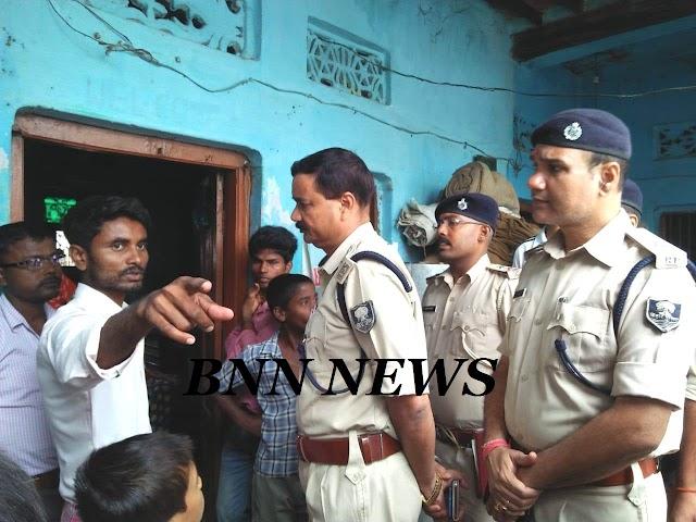 हरलाखी के विशौल में देशी बम फोड़कर घर में किया लूटपाट व मारपीट