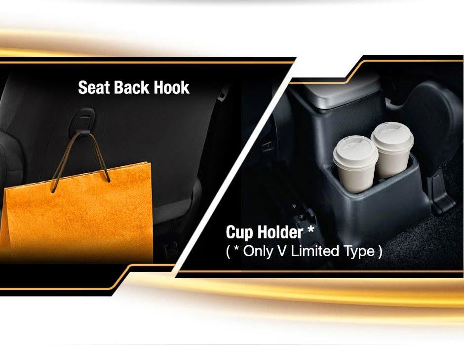 seat back hook