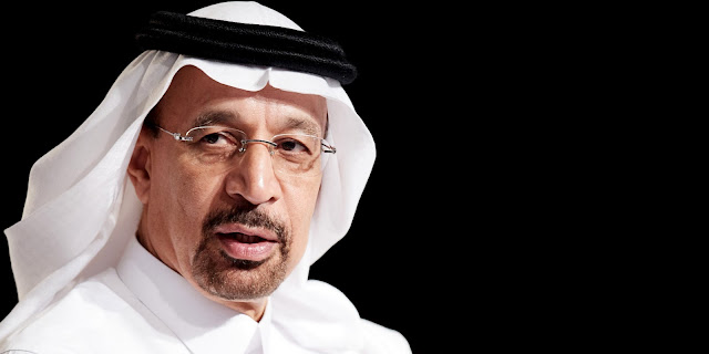 Saudi Arabia's Minister of Energy, Industry & Mineral Resources, H.E. Khalid Al Falih, will be presented with the 'International Oil Diplomacy Person of the Year 2017' Award at the  Energy Institute's International Petroleum (IP) Week on Feb. 22nd in London.