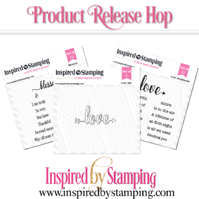 Inspired By Stamping Release - Blessed