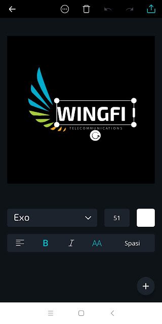 Cara Membuat Logo Keren Di HP Android Mudah