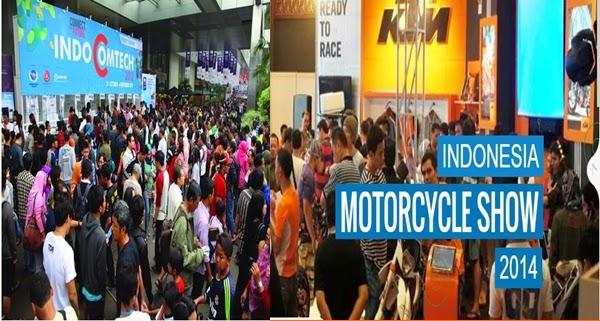 Indonesia Motorcycle Show dan Indocomtech 2014