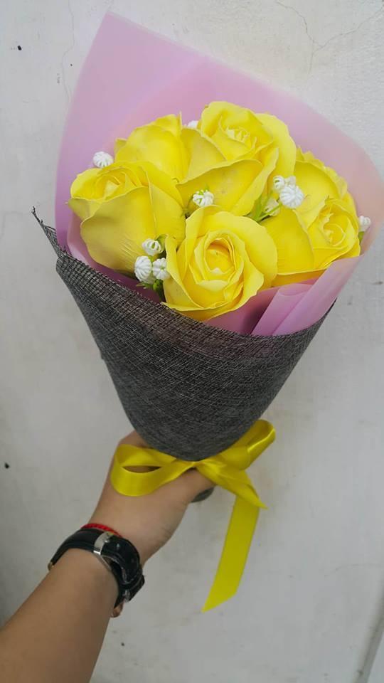 Giay goi hoa o Phuc Tho