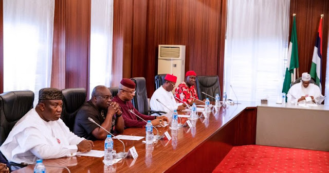 Buhari Promises More Infrastructure For Southeast..blames budget approval delay