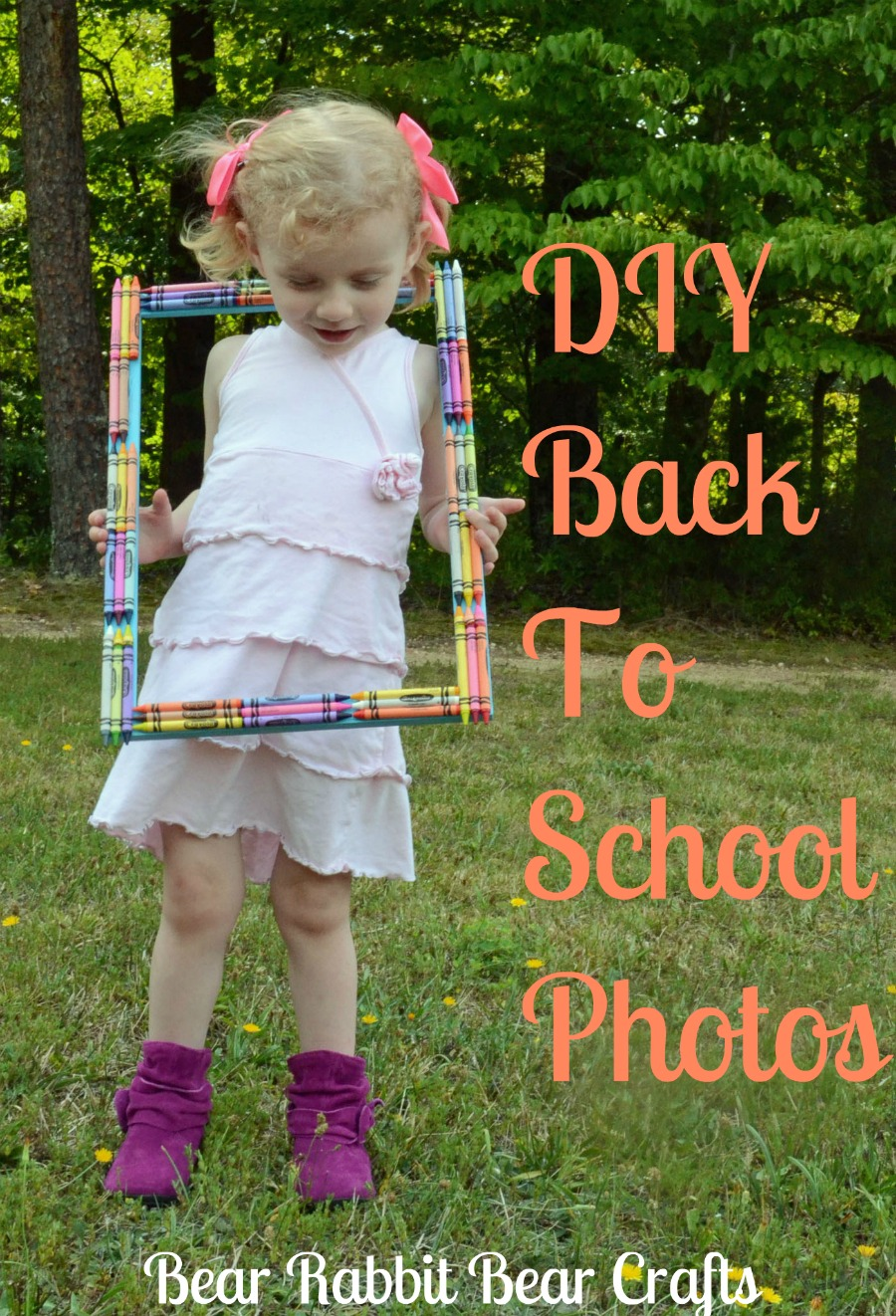 DIY Back To School Photo Session