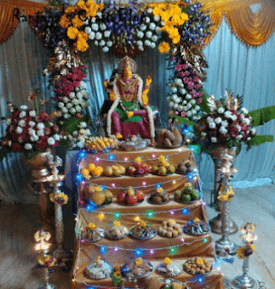 varalakshmi vratam at temple