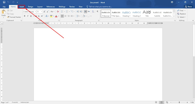 Tutorial Membuat Text Box di Word