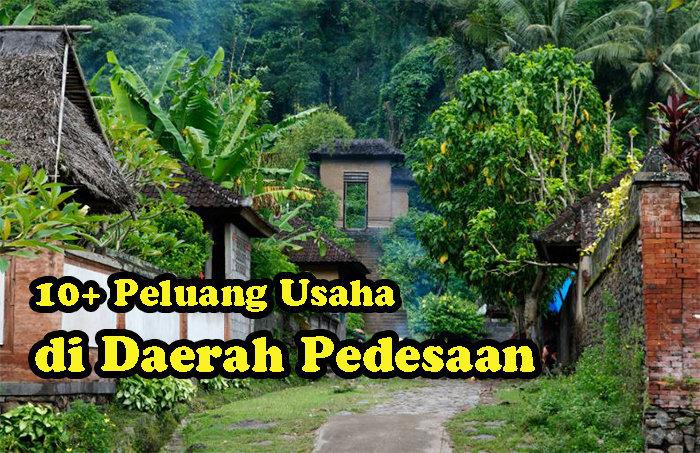 Peluang Usaha di Daerah Pedesaan yang laku setiap hari