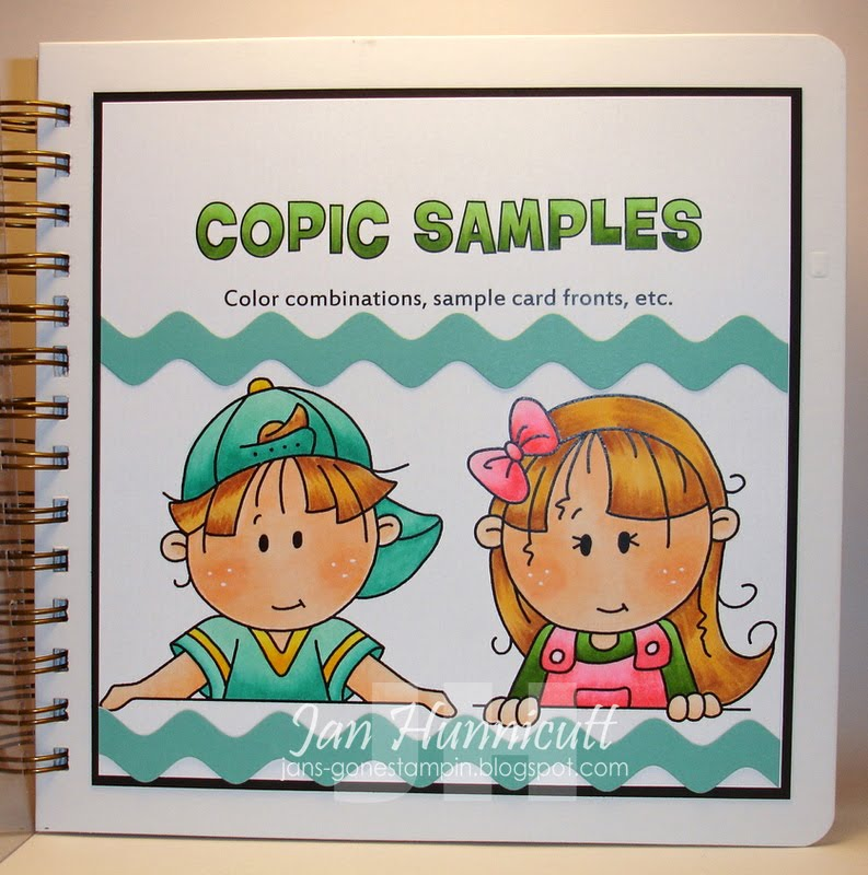 Simply Handcrafted: ABC Monday - Copic Coloring Book