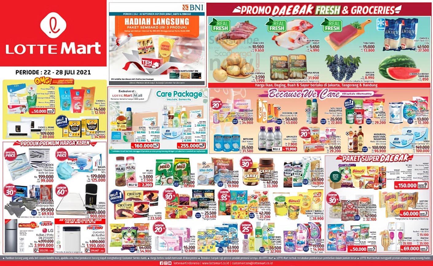 Katalog Promo JSM Lottemart Weekend 22 - 28 Juli 2021