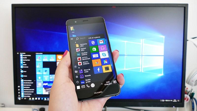 Cách biến giao diện Android trên điện thoại thành Windows 10