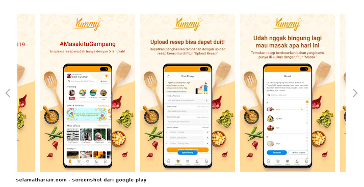 Aplikasi Resep Masakan Yummy App