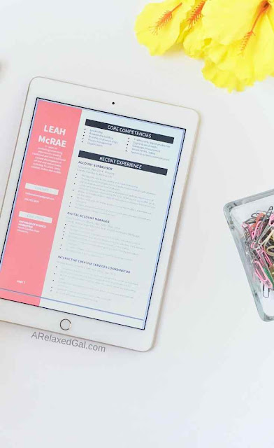 How To Make Your Resume Stand Out | A Relaxed Gal
