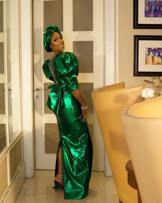 Mo Abudu fashion and style looks latest