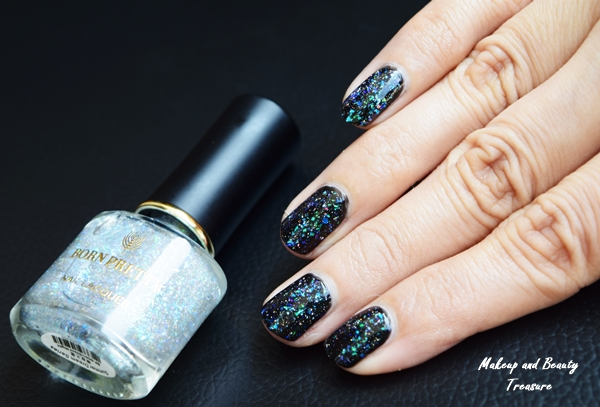 Born Pretty Chameleon Top Coat Nail Polish in Silent Night