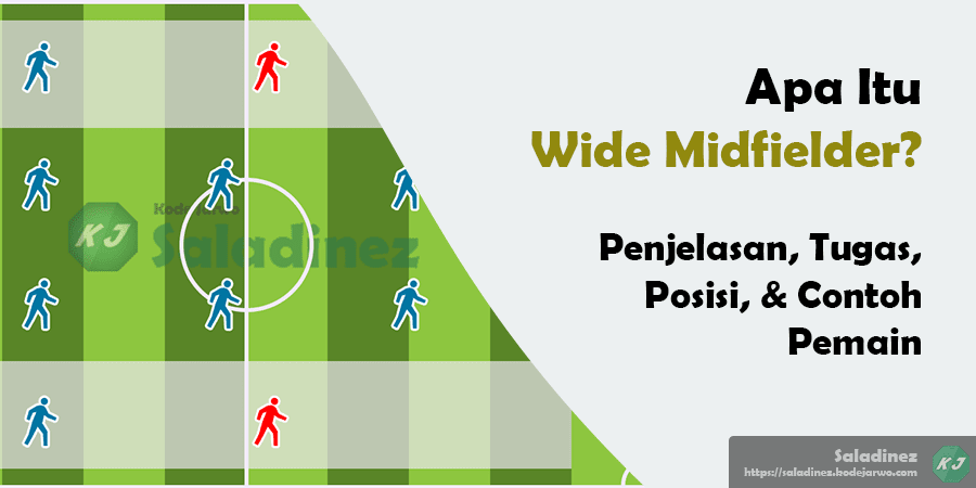 Apa Itu Wide Midfielder? Penjelasan, Tugas, Posisi, & Contoh Pemain