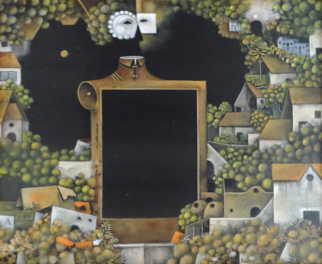 Eduard Alcoy cuadro surrealista original