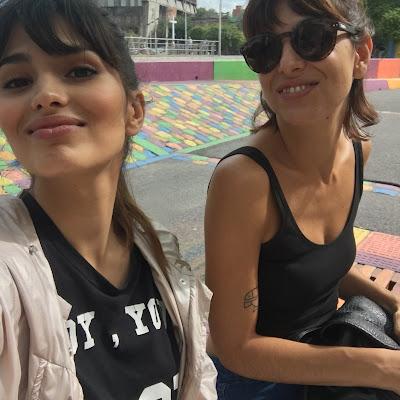 la boca, argentina, actriz, rodaje, caminito