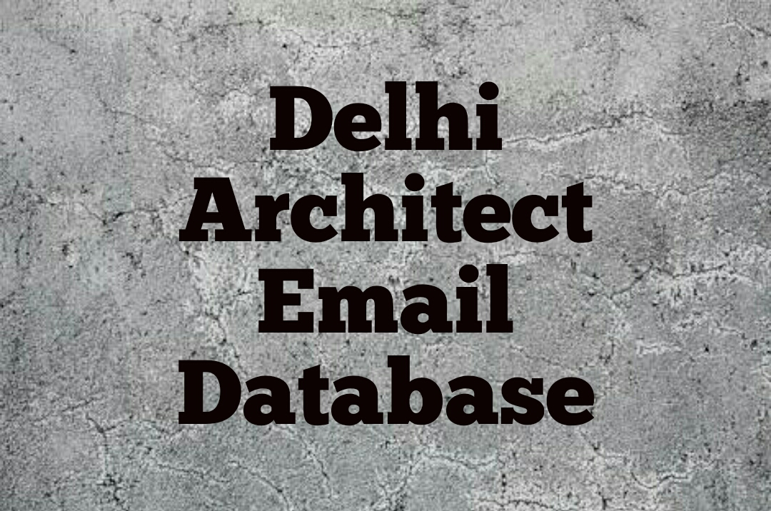 Architects free email database in Delhi | Free Download