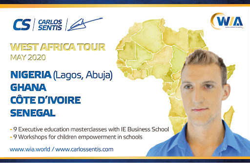 carlos sentis impact social impact education world impact alliance consulting relations africa tour children empowerment