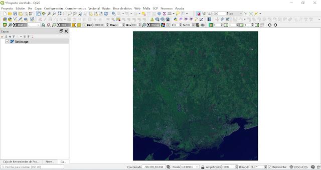 Como extraer la proyección de un raster o capa en QGIS