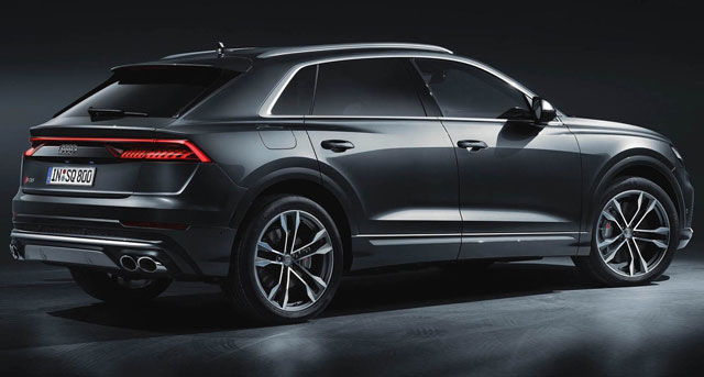 New Audi SQ8 revealed - coupe SUV gains 429bhp V8 diesel power Auto Express