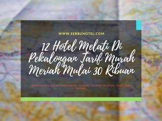 12 Hotel Melati Di Pekalongan Tarif Murah Meriah Mulai 30 Ribuan