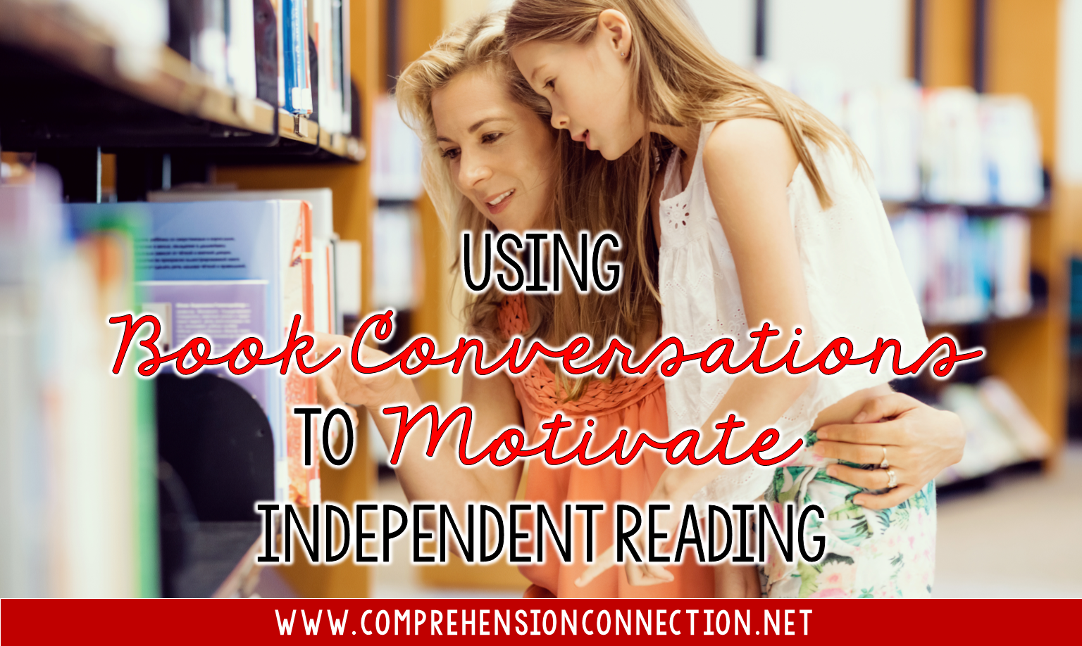 Conversations between teachers and students are critical in motivating students, but how can we use them to motivate independent reading? Check out this post for ideas you can use in your classroom to make book conversations more meaningful.