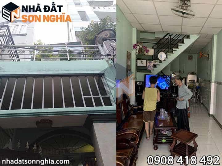 Bán nhà đường số 21 phường 8 Gò Vấp