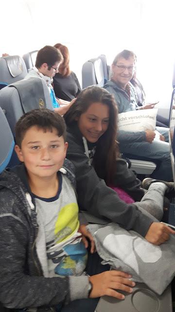 Gemütlich im Condor-Flieger nach Puerto Rico