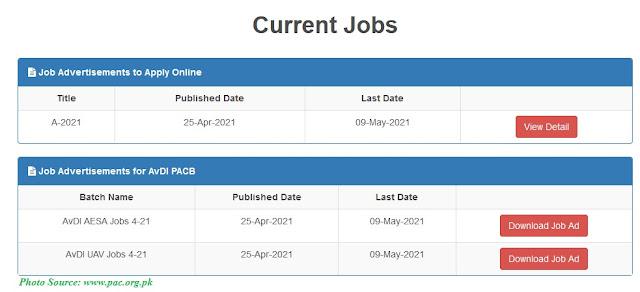 Pakistan Aeronautical Complex Latest Jobs 2021 - 570+ Posts announced Apply Online www.pac.org.pk
