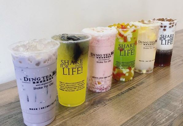 Aug 31 - Sept 3 | Ding Tea Huntington Beach Offers BOGO FREE DRINKS ALL WEEKEND