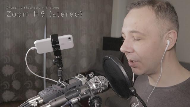 Kadr z oryginalnego nagrania materiału