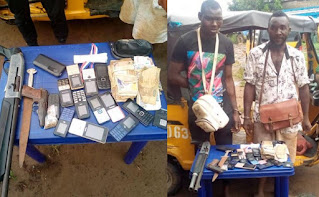 Suspected One-Chance Armed Robbers Arrested In Anambra