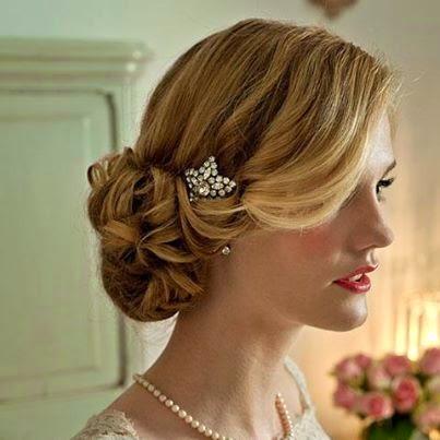 Formas modernas de peinados con pelo recogido Colección De Cortes De Pelo Tendencias - peinados con el pelo recogido sencillos   Elainacortez
