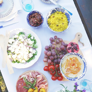 A Mediterranean Inspired Party