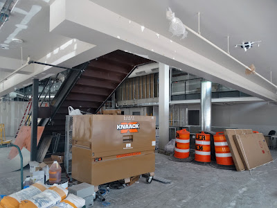 Build-out under way at 420 Main Street Houston TX 77002