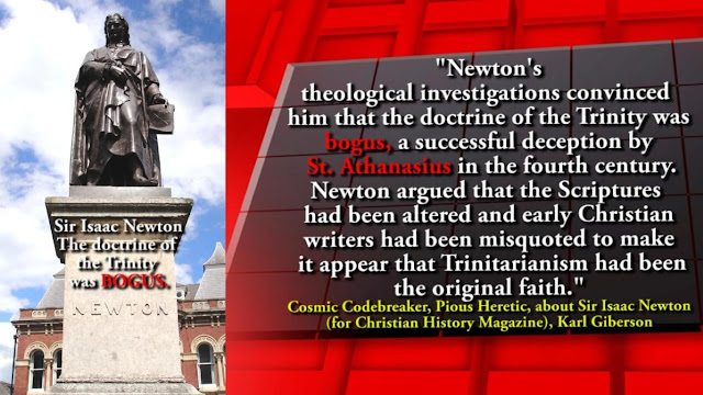 Sir Isaac Newton on the TRINITY.
