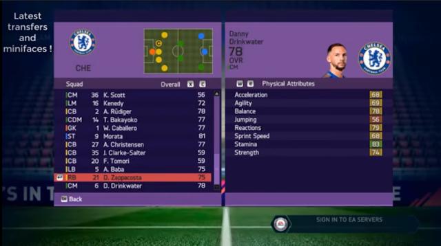 Fifa 18 mod transfer pro evo or fifa 2018